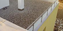 Zajištění hydroizolačních pásů plochých střech