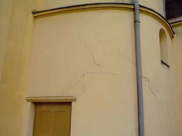Zajištění zděných staveb proti vlivům technické seizmicity