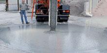 Zásady práce s betonovou směsí