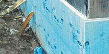 Zateplení spodní stavby extrudovaným polystyrenem