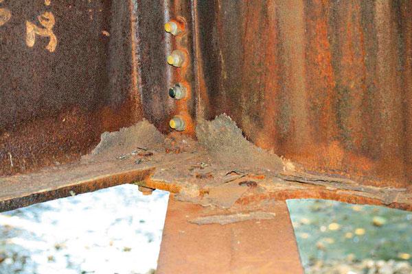 Životnost ocelové mostní konstrukce