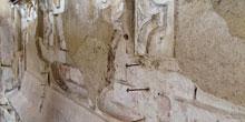Zpevňování omítek historických budov