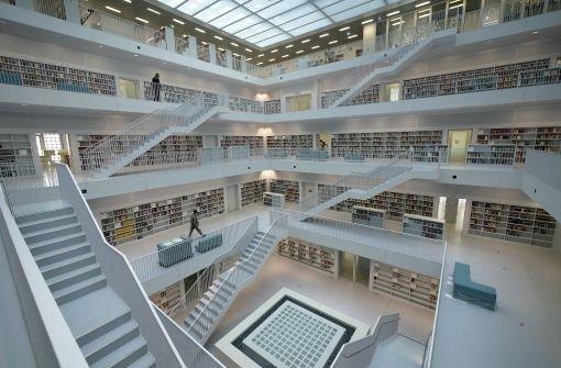 Městská knihovna ve Stuttgartu