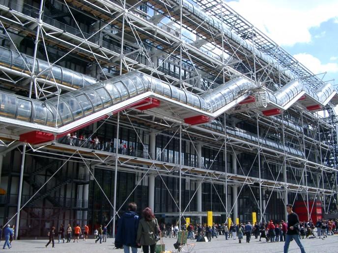Centre Georges Pompidou v Paříži