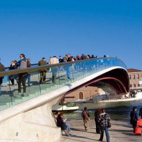 Nejkrásnější most Santiaga Calatravy