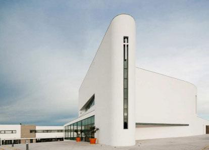 Kostel Boa Nova od studia Roseta Vaz Monteiro Arquitectos