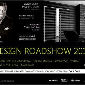POZVÁNKA na odborný diskuzní seminář DESIGN ROADSHOW 2014
