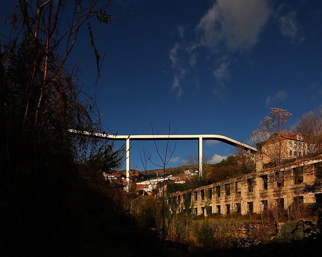 Most pro pěší v Covilha