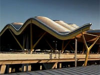 Terminál 4 letiště Barajas v Madridu