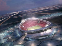 MS ve fotbale 2022 - Qatar Lusail Iconic Stadium