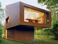 Soukromá knihovna (Andrew Berman Architect)