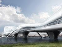 Unikátní most pro pěší v Soulu