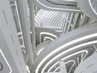 Nákupní galerie Centercity v Jižní Koreji