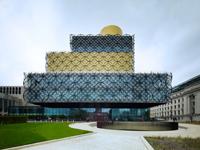 Veřejná knihovna v Birminghamu s ornamenty